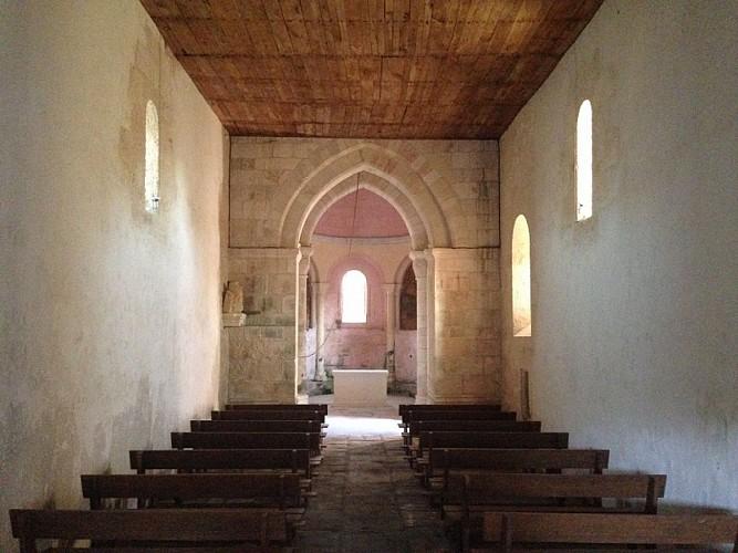 Eglise de Boulouneix intérieur