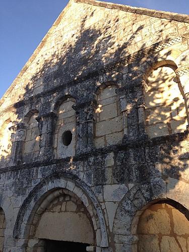 Eglise de Boulouneix façade