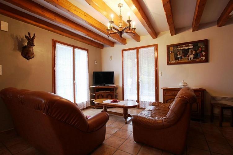 Maison Azcona salon - St Etienne de Baigorry