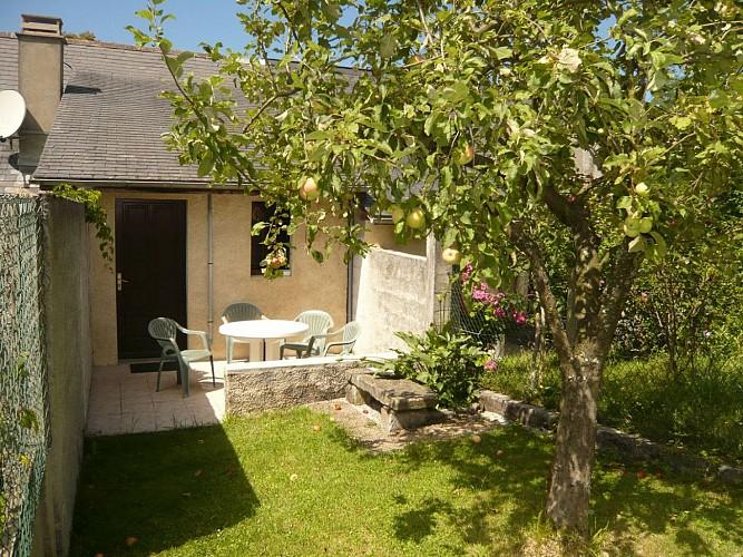 Gîte Curt Photo terrasse
