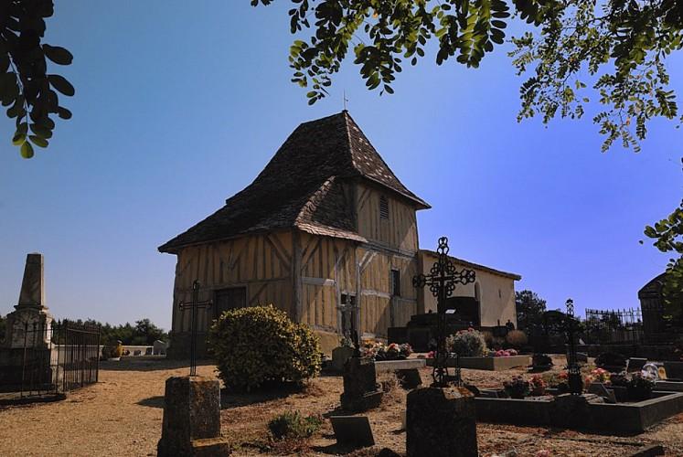 Eglise- St Sauveur-Lalande- 1