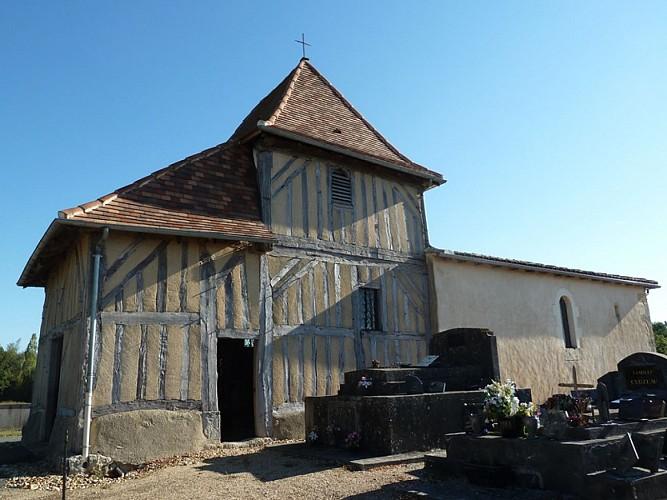 Eglise- St Sauveur lalande -extérieur