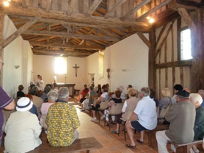 Eglise -St Sauveur -lalande -intérieur