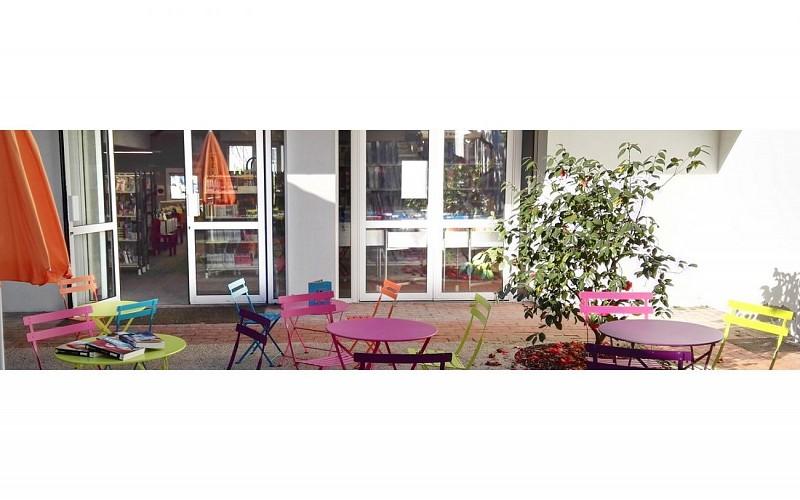 Médiathèque - Jurançon - patio