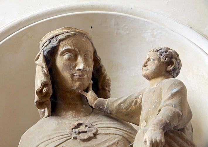 Vierge à l'Enfant de La Chapelle-Montmoreau