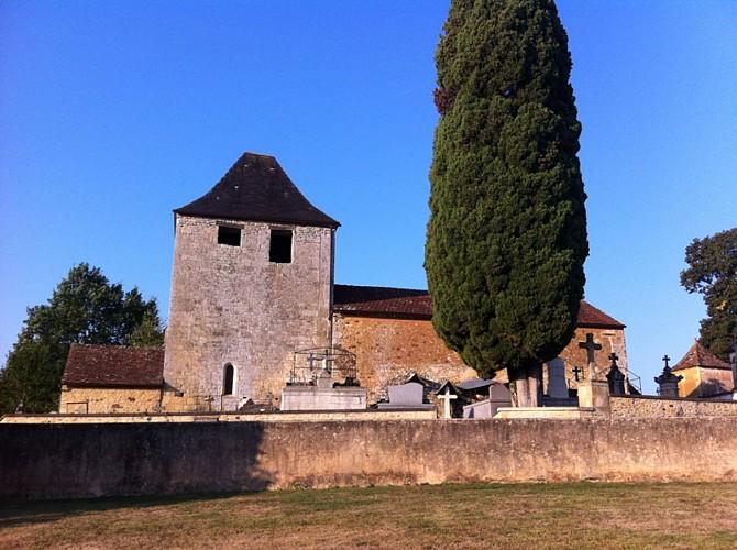 Saint Avit de Vialard - Eglise