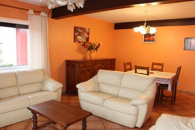 Pierresteguy - Salon séjour