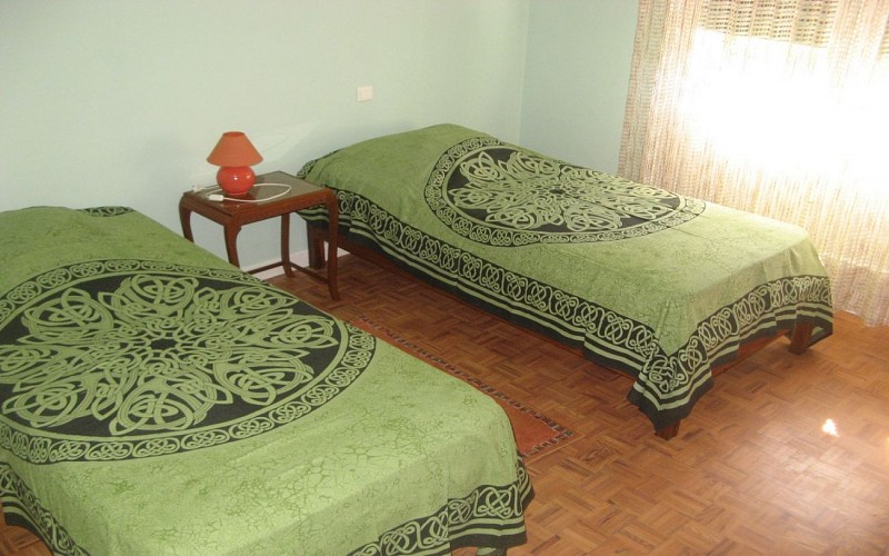 Robin - Chambre lits verts