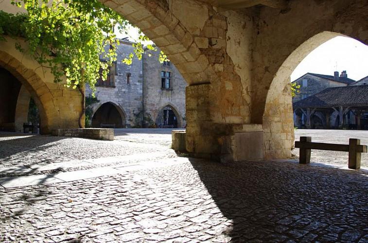 Bastide Monpazier Dordogne Périgord
