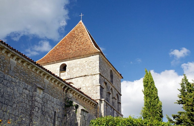 Eglise des Graulges clocher