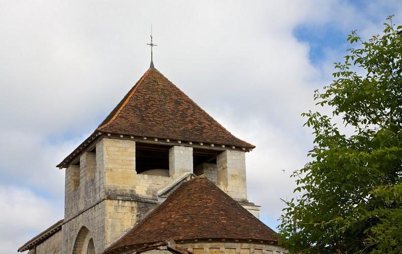 Eglise Saint-Pantaléon (Valeuil) clocher