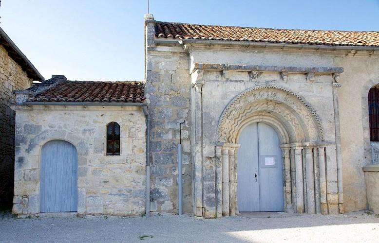 Eglise Saint-Sulpice-de-Mareuil portail
