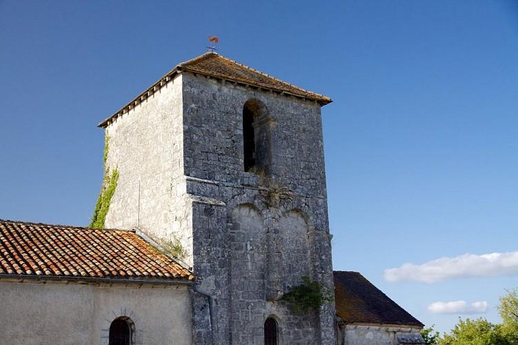 Eglise Saint-Sulpice-de-Mareuil clocher