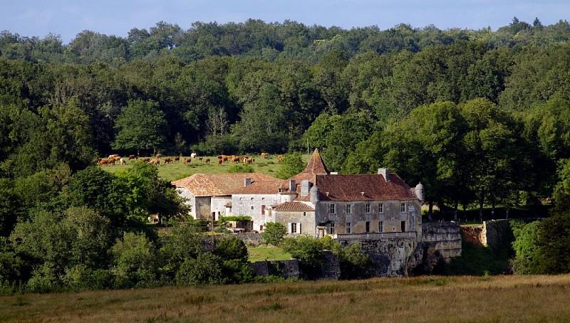Château d'Aucors, Beaussac