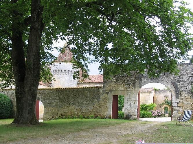 Château d'Aucors entrée