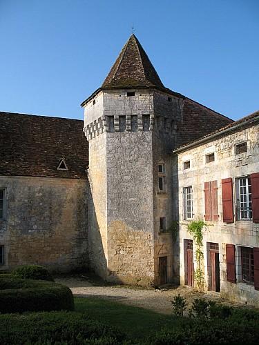 Château d'Aucors la tour