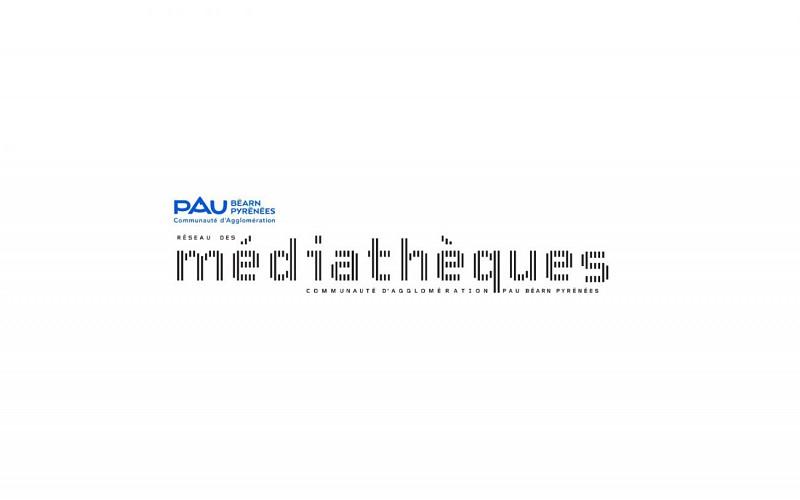 Médiathèque d'Este - Billère - Logo