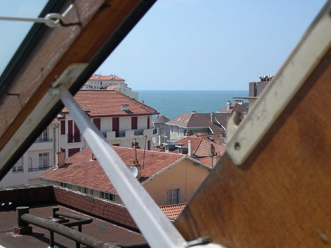 Vue toits bourdon Biarritz