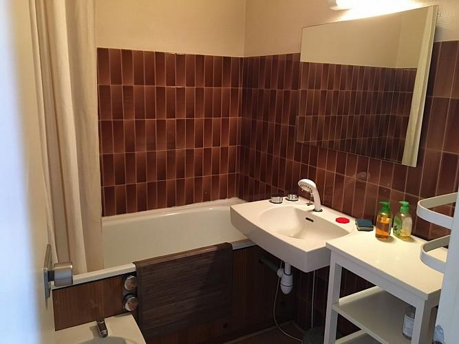 Vue toit fenêtre bourdon Biarritz