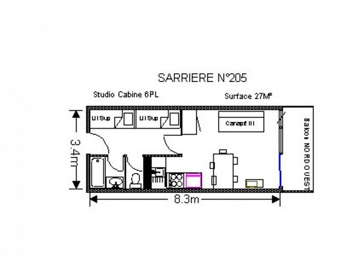 AGENCE BARROSO - SARRIERE 198 205 PLAN