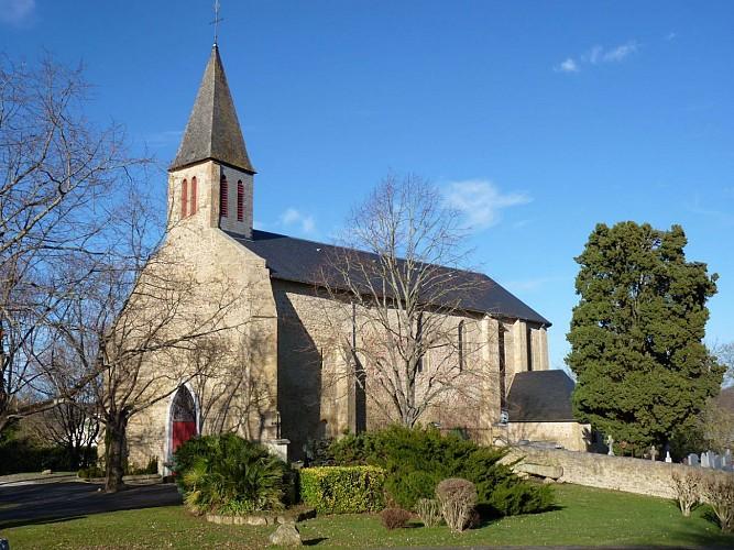 Eglise St Jean-Poudge - cph SMT NB