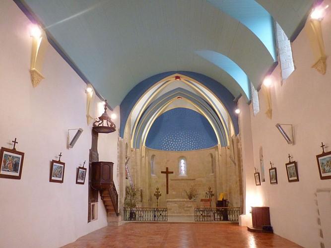 Eglise intérieur - Saint-Jean-Poudge - cph SMT NB