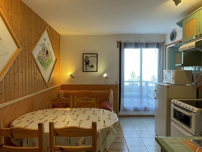 Appartement Poulet - Coin cuisine et repas
