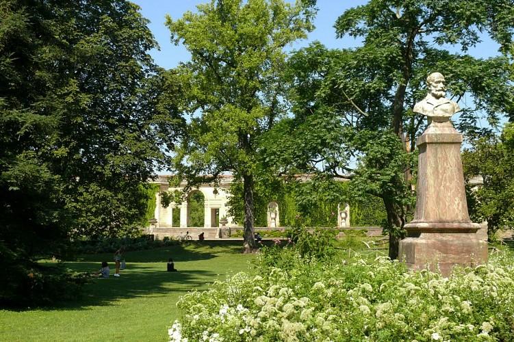 Jardin Public, bâtiment de l'ancien jardin botanique