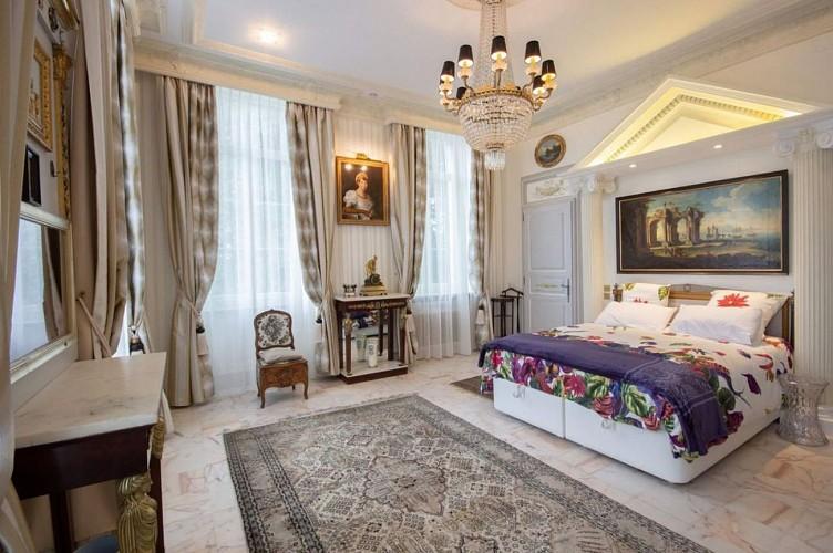 Chateau-de-Druon---chambre-Empire