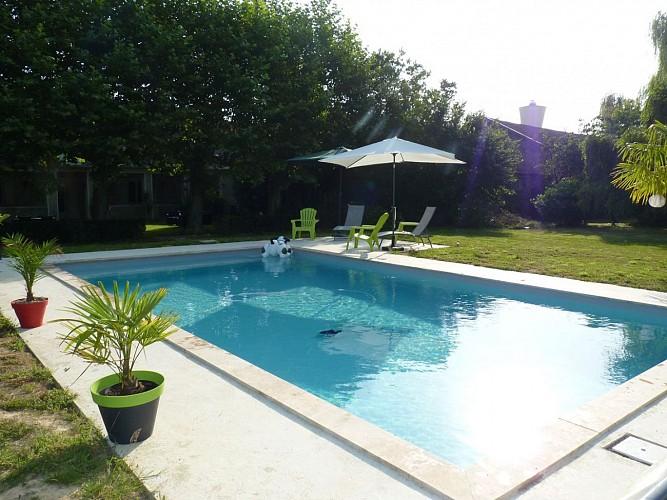Chambre d'hôte La Villa du Béarn Garlin