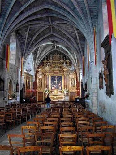 Retable de l'église Saint Blaise Saint Martin