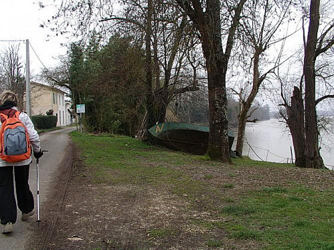 Destination Garonne, maison de pêcheur du Port de la Prade, Lestiac