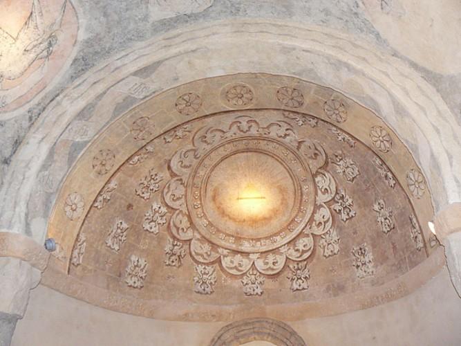 Eglise St Eloi plafond