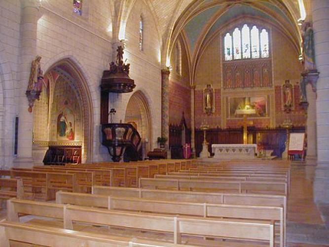 Eglise Monségur1