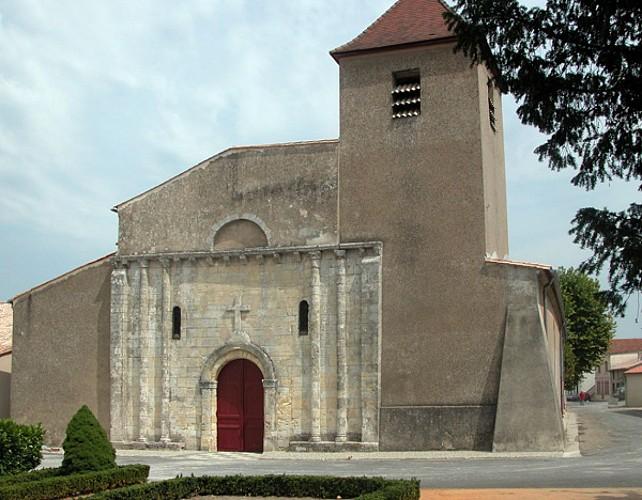 église d'Etauliers arrière