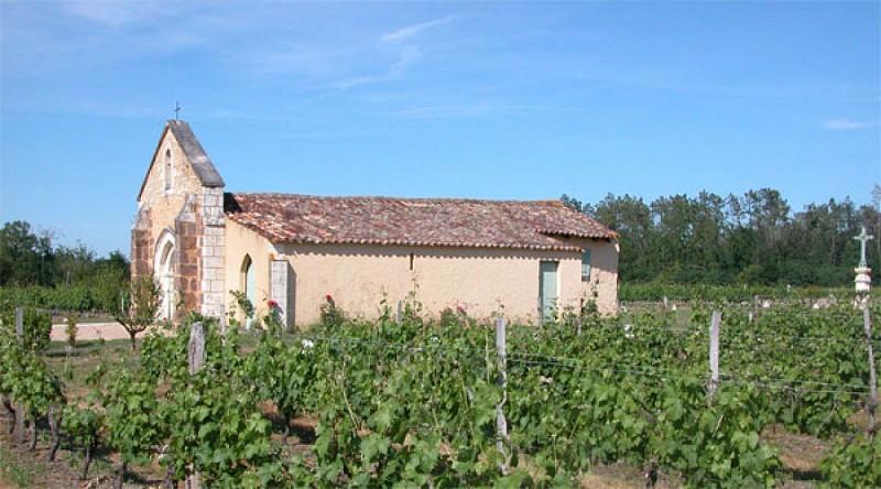 Chapelle de Tutiac avec Vigne