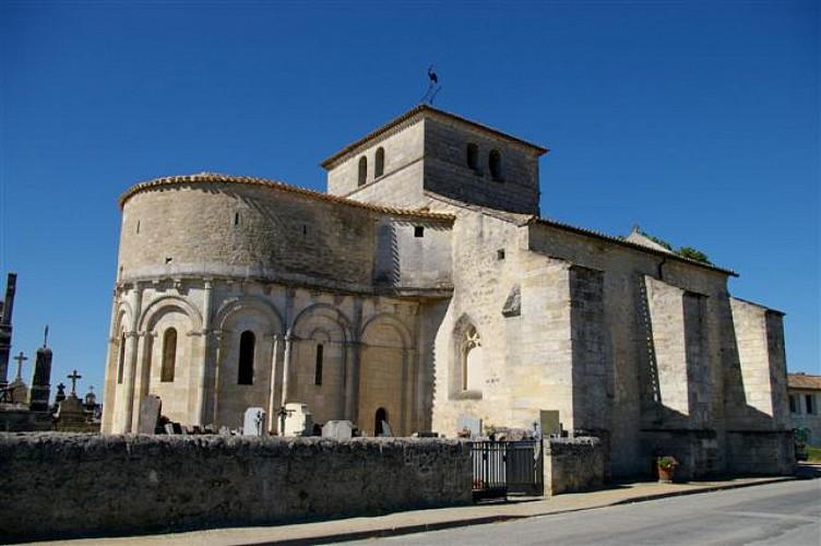 La Lande-de-Fronsac - Eglise St-Pierre
