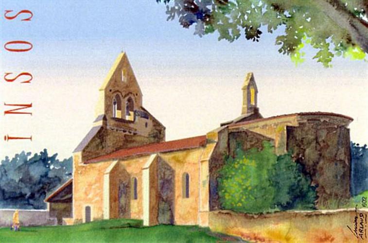 Préchac - Eglise St-Martin d'Insos