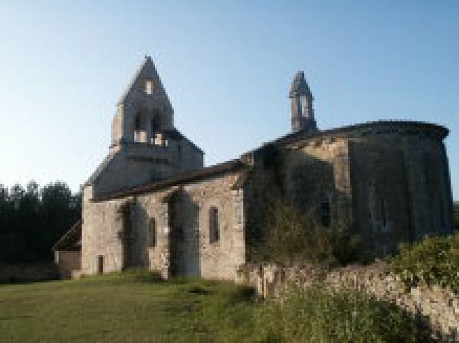 Eglise d'Insos à Préchac