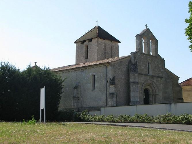 Eglise Générac extérieur