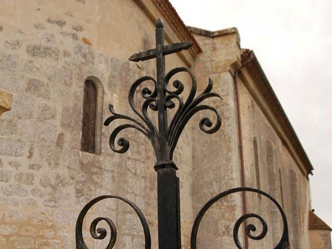 Cazats - église