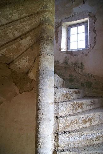 Maison de Tardes escalier de la tour