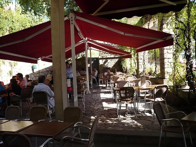 Les Eyzies - Le Café de la Mairie