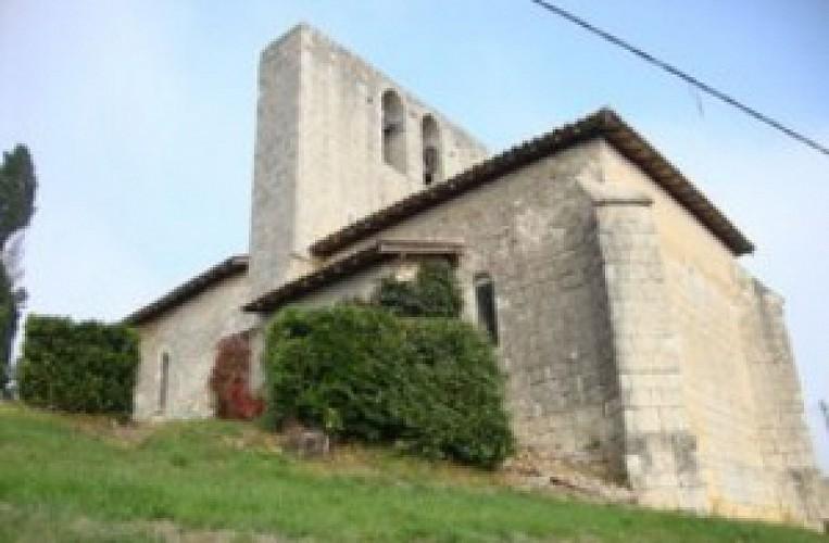 Eglise de Campin à Grignols