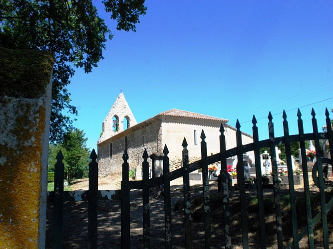 Grignols - Eglise notre dame de Sadirac (2)