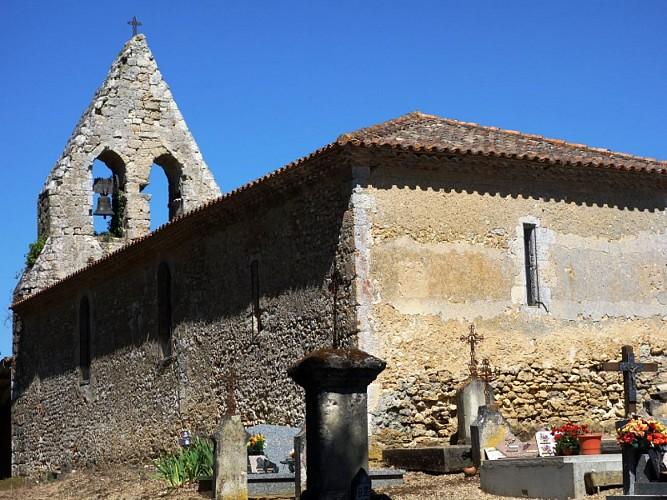 Grignols - Eglise notre dame de Sadirac (1)