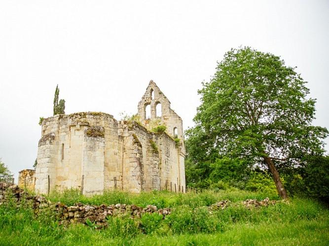 Grignols - église d'Auzac (1)