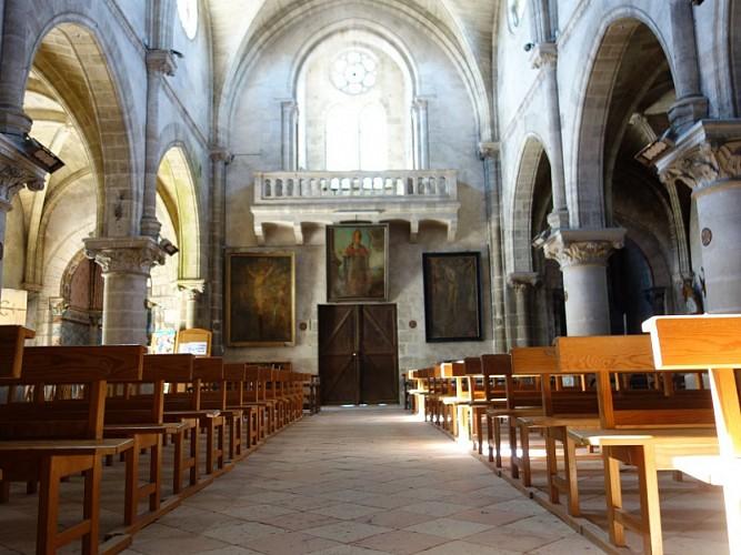 Captieux - église (2)