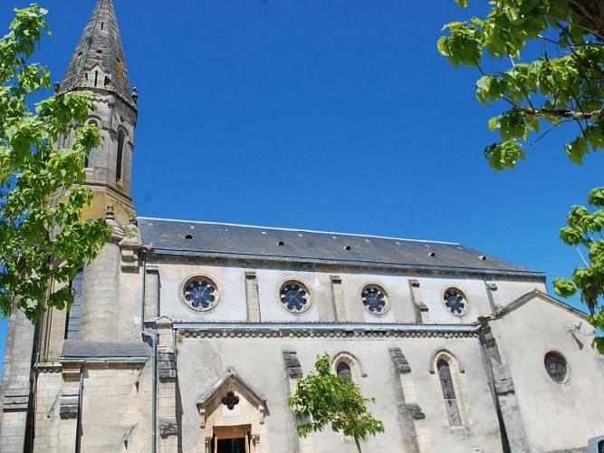 Captieux - église - ph Elodie F (1)