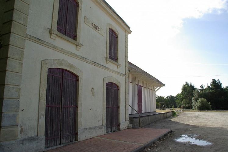 Ancienne gare d'Arès